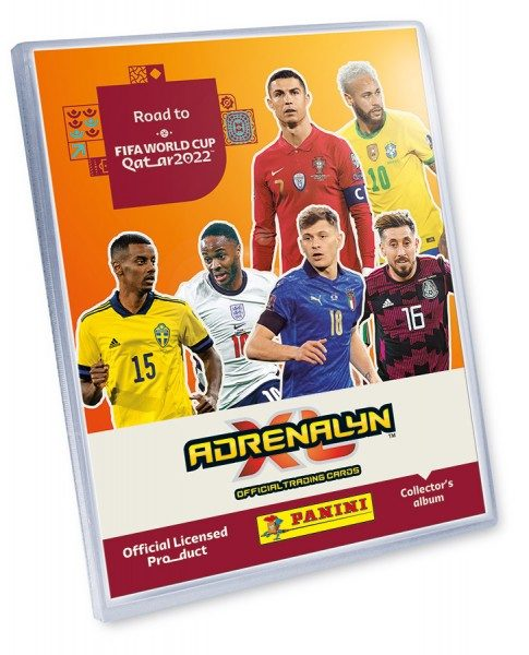 Panini FIFA Road To Worldcup 2022 - AXL - Sammelordner