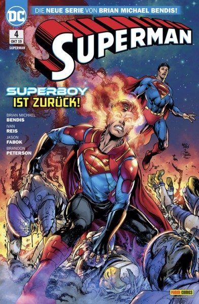 Superman 4 Cover