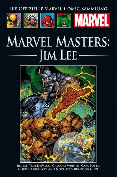 Hachette Marvel Collection 208 - Marvel Masters - Jim Lee Cover