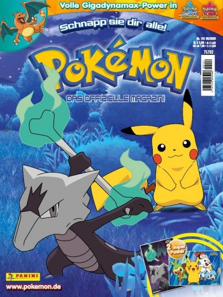 Pokémon Magazin 151 Cover