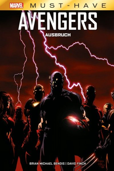 Marvel Must-Have - Avengers - Ausbruch Cover