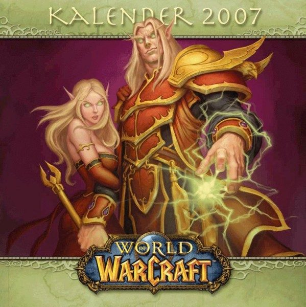 World of Warcraft - Wandkalender (2007)