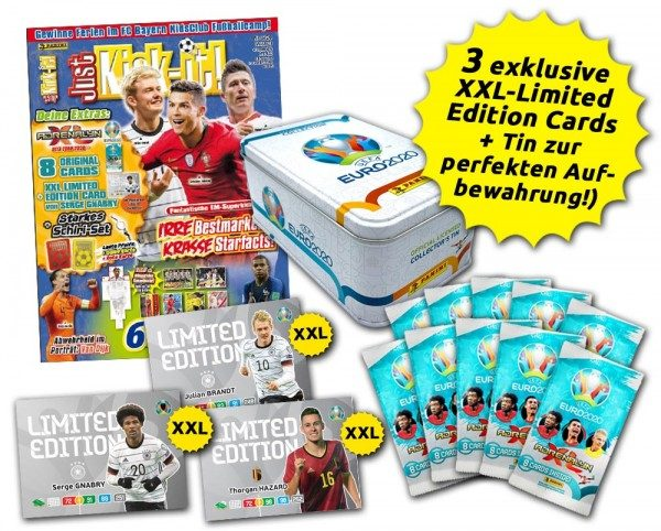 UEFA EURO 2020 Adrenalyn XL - Just Kick-it! 05/20 XXL-Bundle