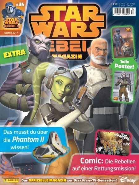 Star Wars - Rebels - Magazin 34