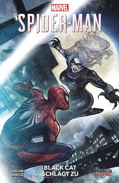 Spider-Man: Black Cat schlägt zu Cover