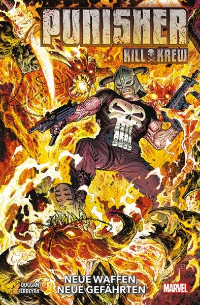 Punisher Kill Krew Cover