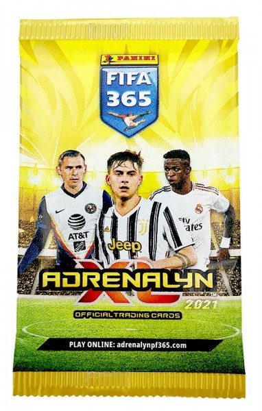 Panini FIFA 365 Adrenalyn XL 2021 Kollektion – Pack