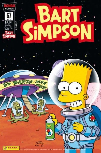 Bart Simpson Comics 67
