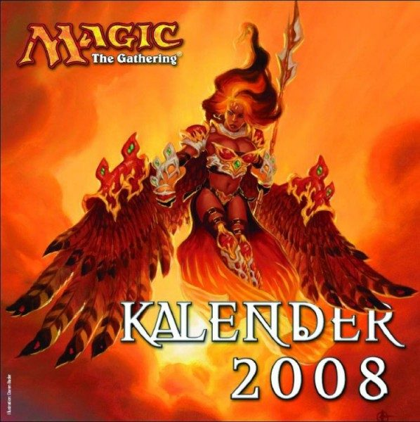 Magic - The Gathering - Wandkalender (2008)