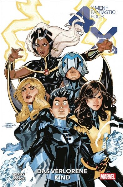 X-Men / Fantastic Four - Das verlorene Kind Cover