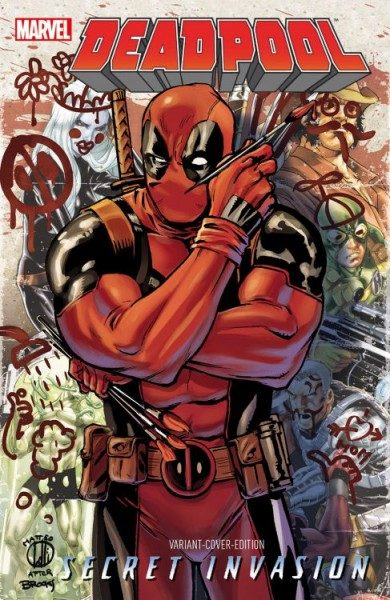 Deadpool - Secret Invasion Comic Con Stuttgart Variant