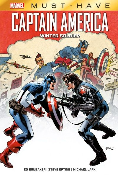 Marvel Must-Have - Captain America - Winter Soldier Cover
