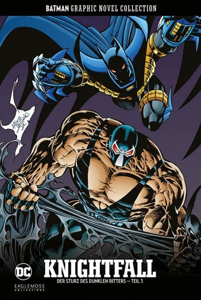 Batman Graphic Novel Collection 42: Knightfall - Der Sturz des Dunklen Ritters, Teil 3 Cover