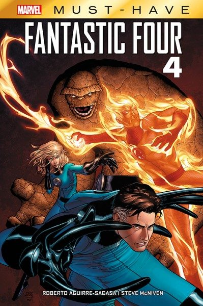 Marvel Must-Have - Fantastic Four - 4 Cover