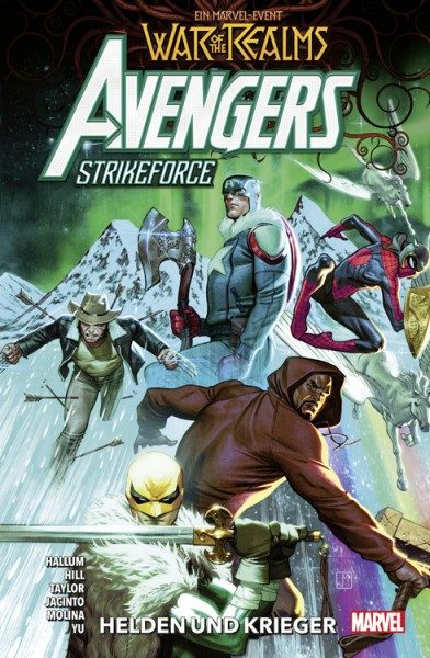 War of the Realms Sonderband - Avengers Strikeforce - Helden und Krieger Cover