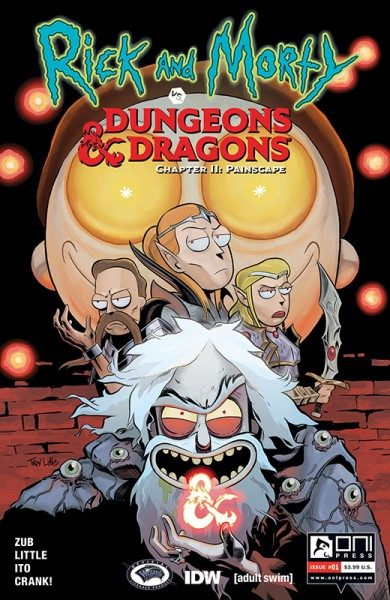 Rick and Morty vs. Dungeons & Dragons 2 - Painscape Cover