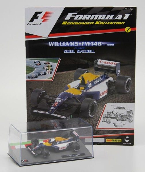 Formula 1 Rennwagen-Kollektion 7 - Nigel Mansell (Williams FW 14B)
