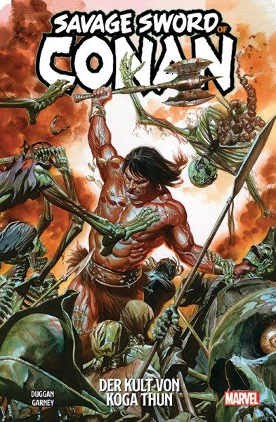 Savage Sword of Conan 1 Cover