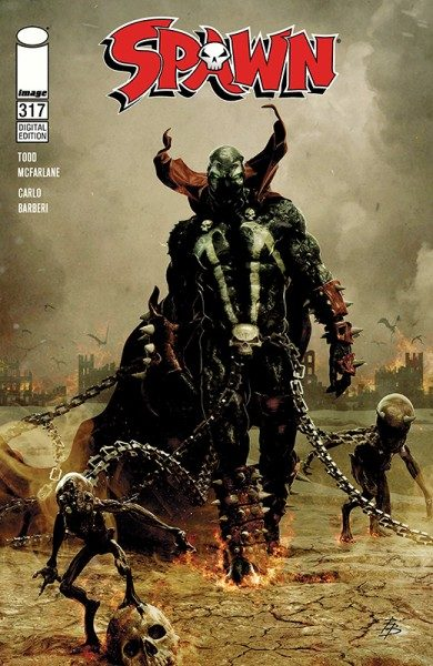 Spawn 126 Cover