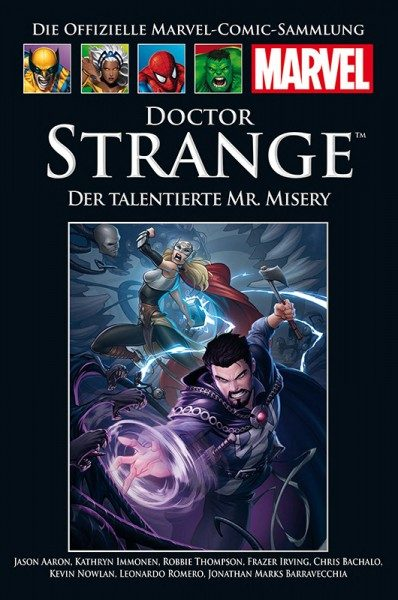 Hachette Marvel Collection 200 Dr. Strange - Der talentierte Mr. Misery Cover