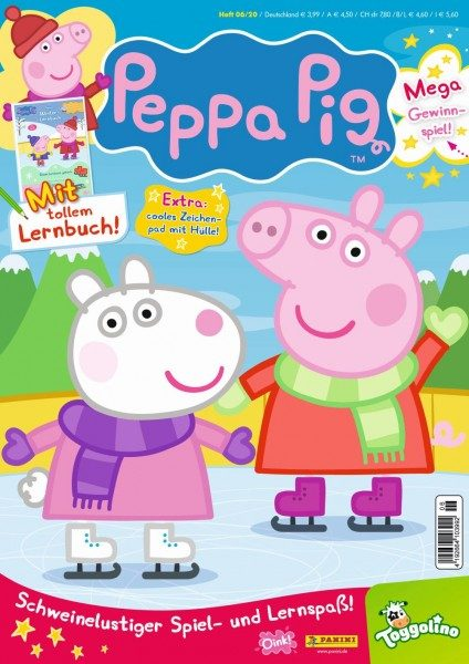 Peppa Pig Magazin 06/20 Cover