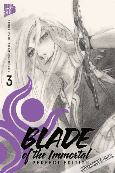 Blade of the Immortal 3 Perfect Edition Cover