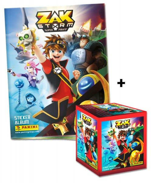 Zak Storm: Super Pirate Stickerkollektion – Sticker-Starter-Bundle