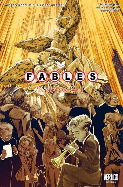 Fables 26 - Lebewohl