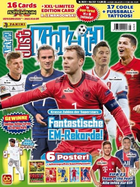 Just Kick-it! Magazin 05/21 Cover