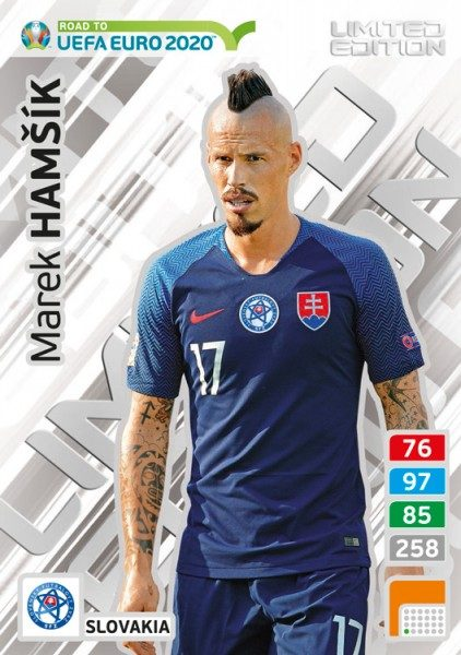 Road To UEFA Euro 2020 Adrenalyn XL - LE-Card Marek Hamšík/Svk
