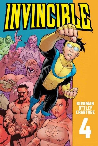 Invincible 4 Cover