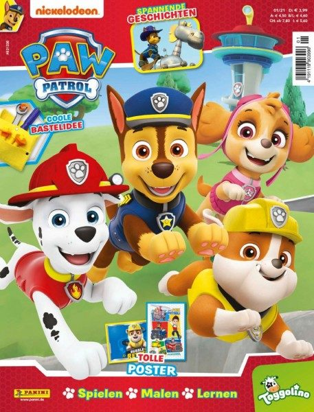 Paw Patrol Magazin 01/21 Cover