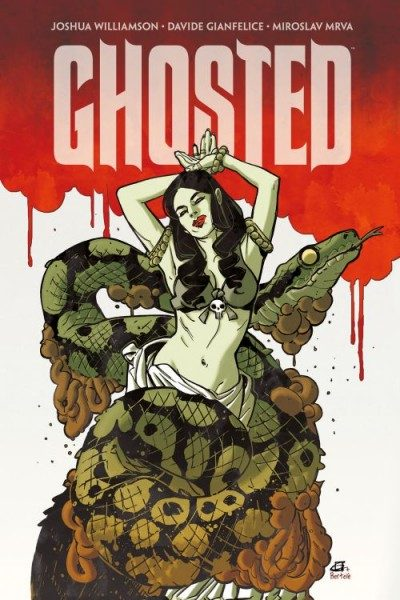 Ghosted 2 Variant Comic Action 2014