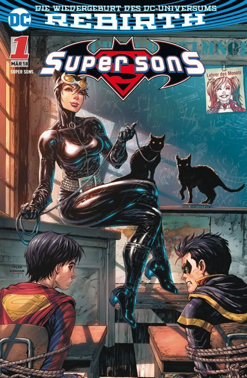 Super Sons 1 - Familienzoff Variant