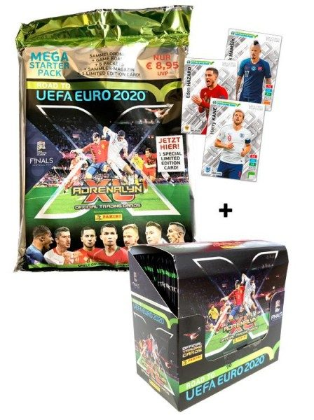 Road To UEFA Euro 2020 Adrenalyn XL – Starter-Bundle