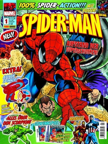 Spider-Man Magazin 1