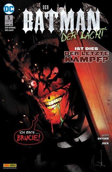 Der Batman, der lacht 5 Cover