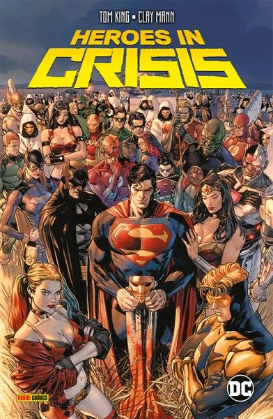 Heroes in Crises TP Cover