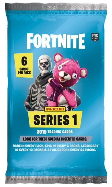 Fortnite Series 1 Trading Card Pack mit 6 Cards