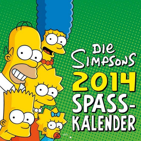 Simpsons - Wandkalender (2014)