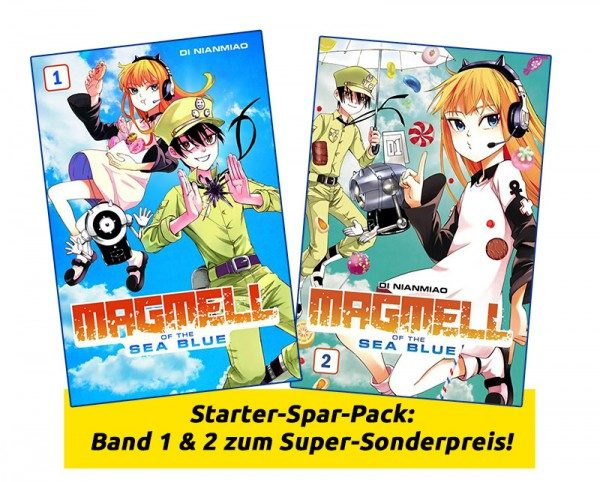 Magmell of the Sea Blue Manga Starter-Spar-Pack