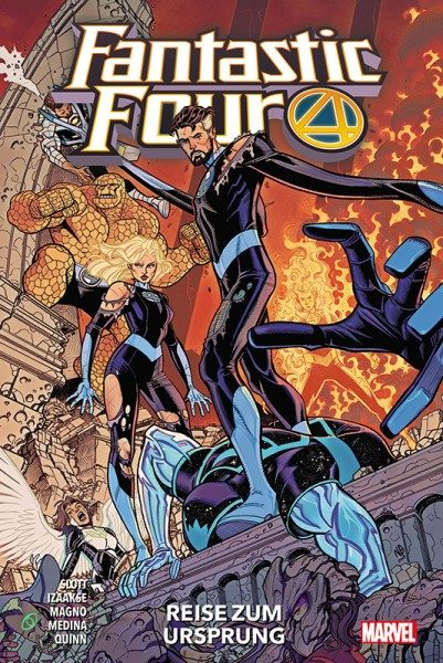 Fantastic Four 5 Cover