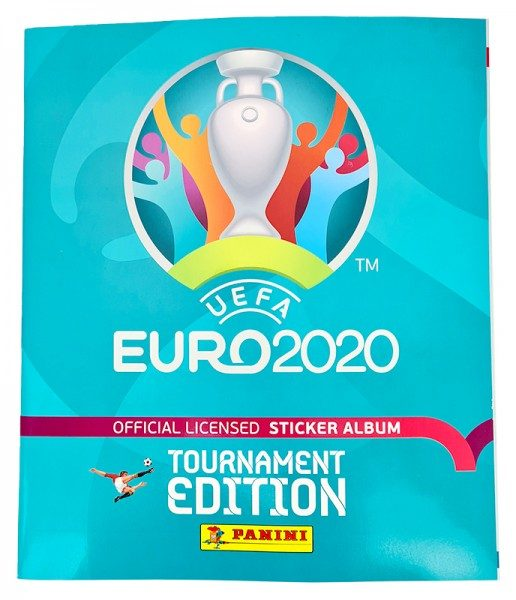 UEFA EURO 2020™ Tournament Edition - Offizielle Stickerkollektion - International Album Vorne