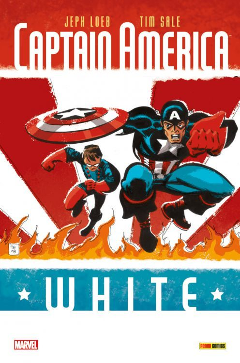 Captain America - White