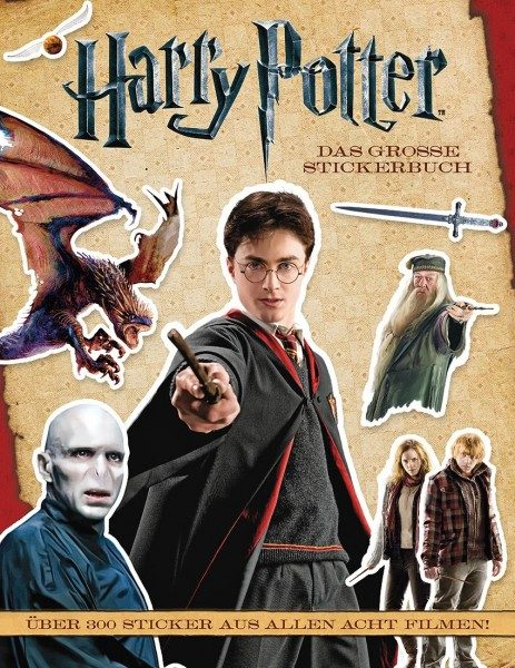 Harry Potter - Das große Stickerbuch Cover