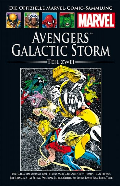 Hachette Marvel Collection 184 - Avengers - Galactic Storm, Teil II Cover