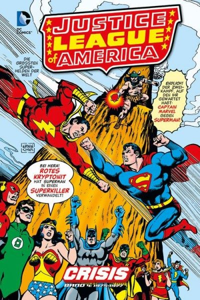 Justice League of America - Crisis 4 Hardcover