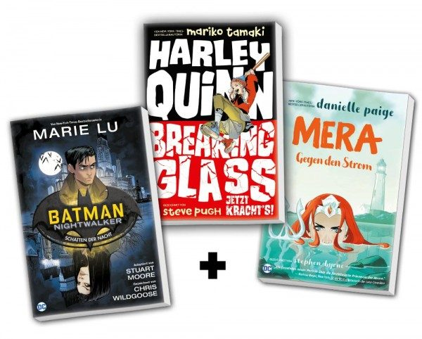 Junge Superhelden: Comic-Bundle
