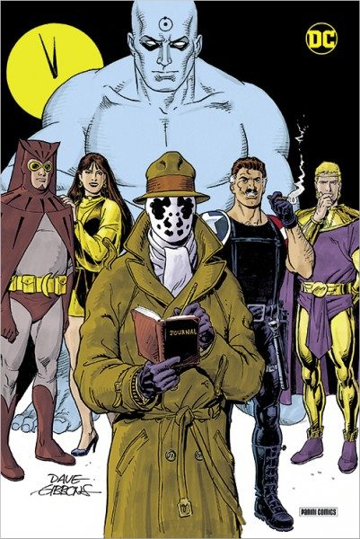 Watchmen Deluxe Edition Cover
