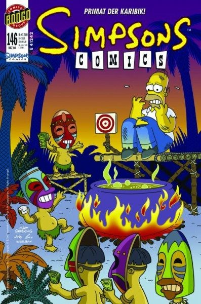 Simpsons Comics 146